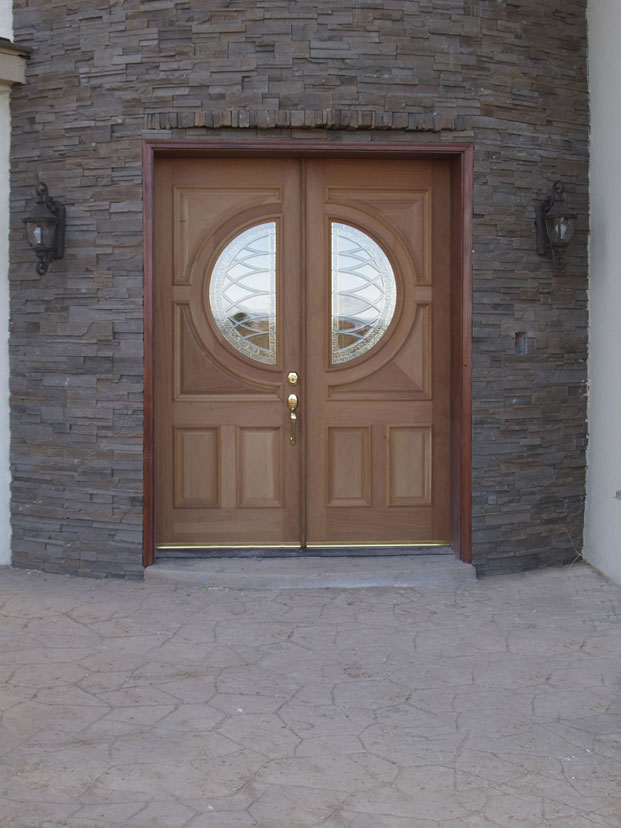 Exquisite installations double entry door for Houses with double front doors